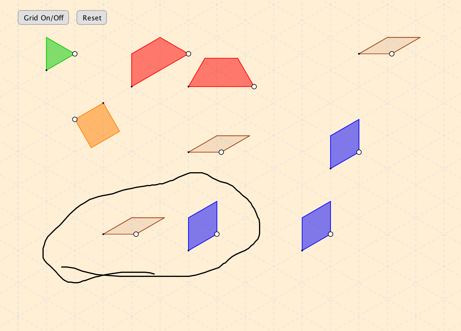 pattern blocks applet
