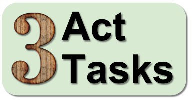 Three Act Tasks